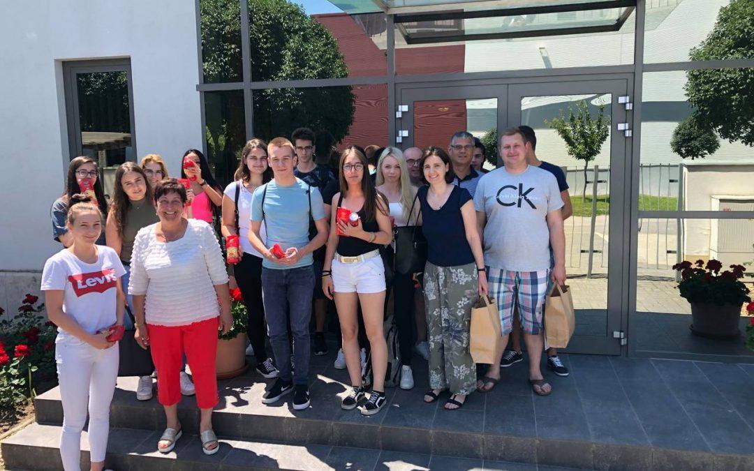 Kossuth Középiskola üzemlátogatás