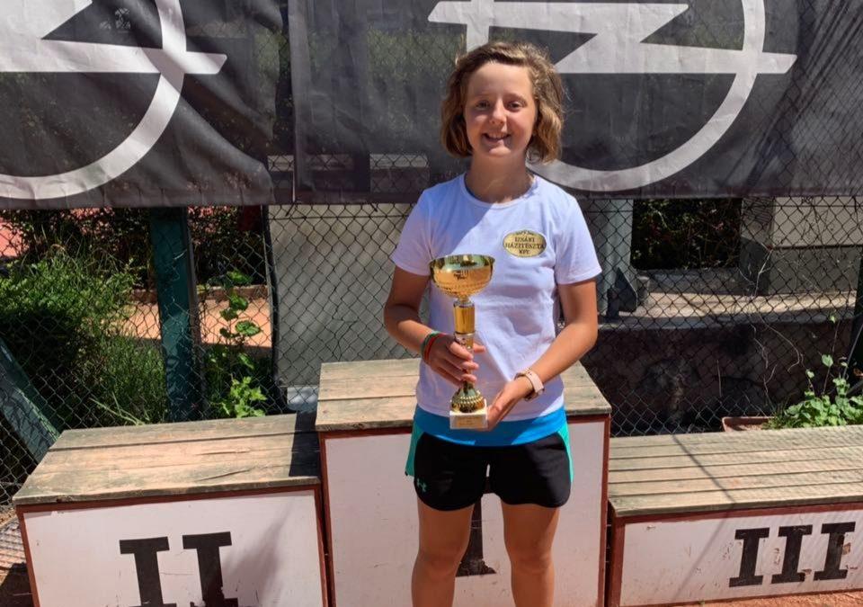 Opel Cup 2019 U12 korosztály egyéni bajnoka Bíró Melinda