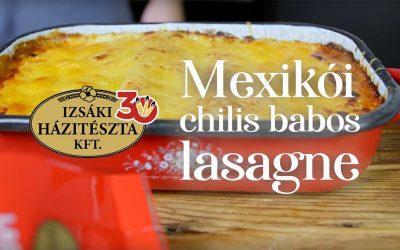 Chilis babos lasagne