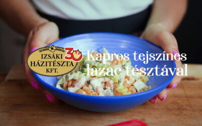 Izsáki lazacos tészta